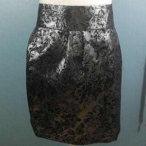 Silence & Noise Foil Skirt size 8